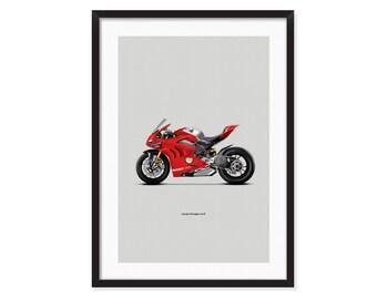 Ducati Panigale V4 R poster