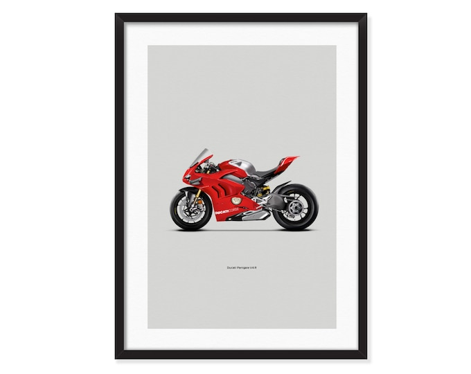 Ducati Panigale V4 R poster