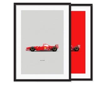 1997 Ferrari F310B poster