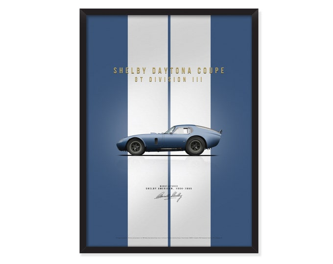 Shelby Daytona Coupe poster