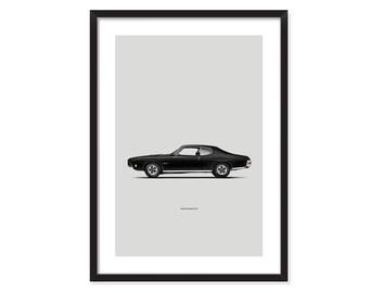 1970 Pontiac GTO-poster