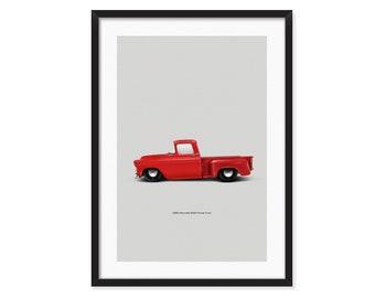 Chevrolet 3100 Pickup Truck 1958  poster