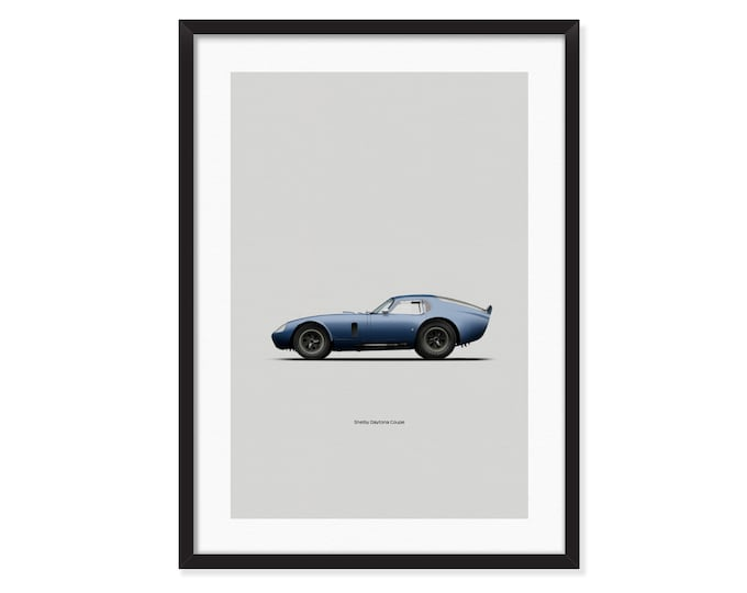Shelby Cobra Daytona Coupe poster