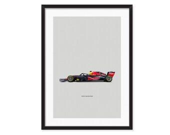 Red Bull RB15-Formula 1 poster