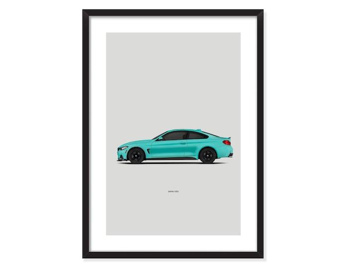 BMW 435i M-poster