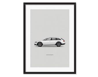 Audi A4 allroad quattro poster