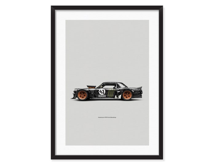 Hoonicorn RTR-Ford Mustang poster