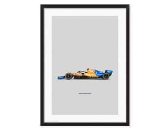 McLaren MCL34-Formula 1 poster