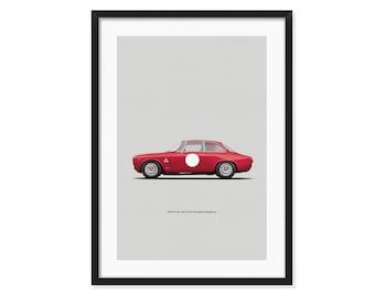 Alfa Romeo Sprint GTA Stradale-Alleggerita poster