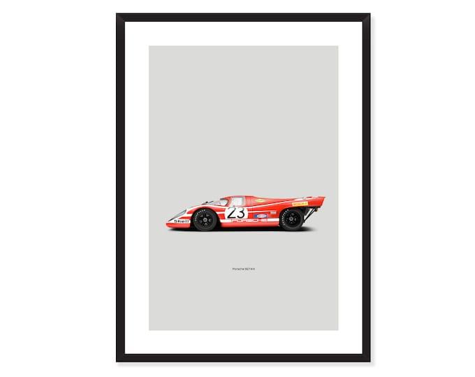 Porsche 917 KH poster