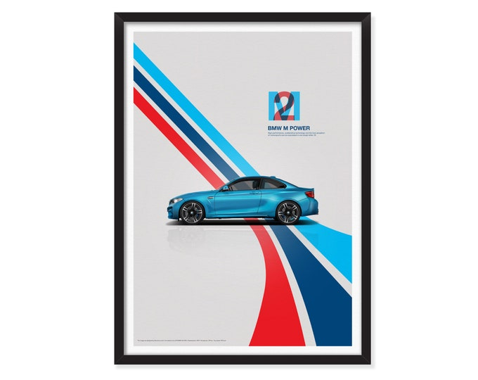 BMW M2 poster