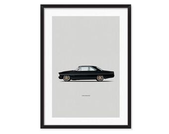 1967 Chevy Nova 2.0 poster
