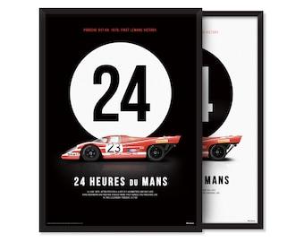 1970, Porsche 917 KH - poster
