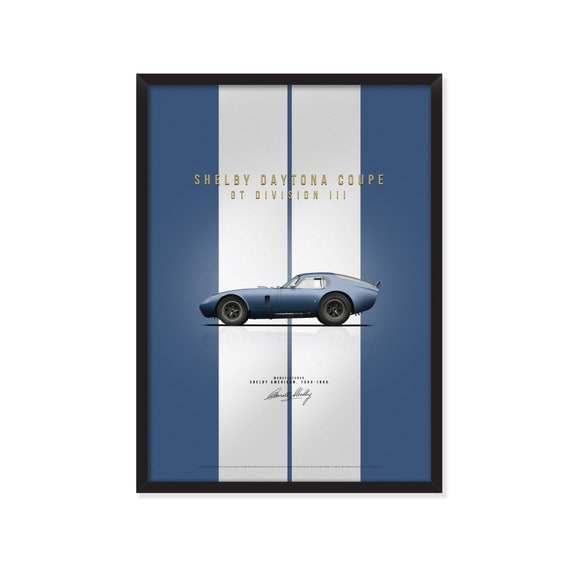 Shelby Daytona Coupe poster