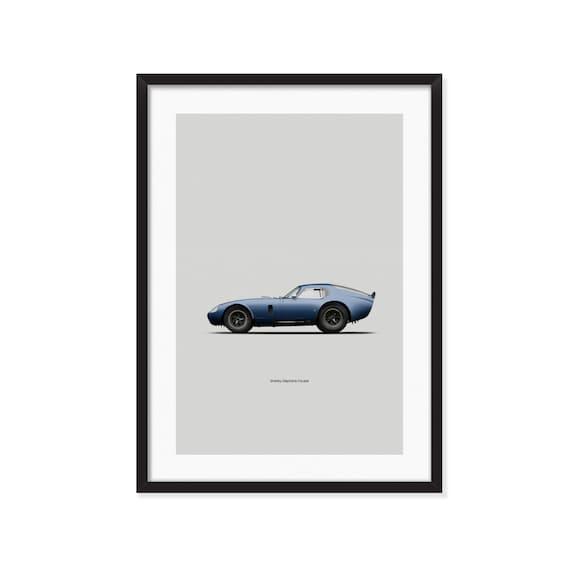 Shelby Cobra Daytona Coupe poster