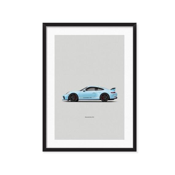 Porsche 911 GT-3 poster