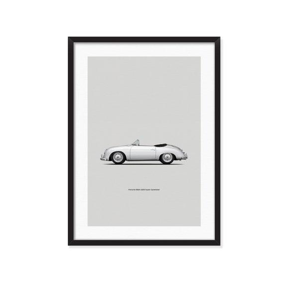 Porsche 356A Super Speedster poster