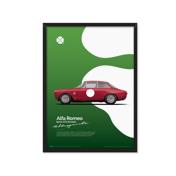 Alfa Romeo Sprint GTA Stradale-Alleggerita (quadrifoglio version) poster