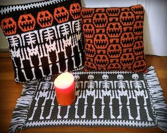 Pumpkin Head Mosaic Crochet Pattern Pack by Sixel