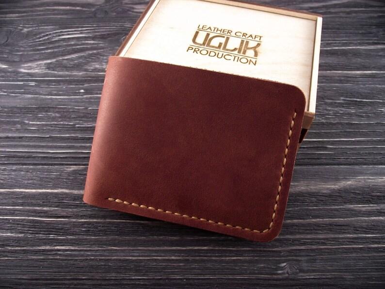 8ae46bda80e5 Leather Wallet Mens Wallet Minimalist Wallet Bifold Wallet