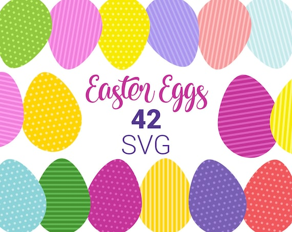 photo regarding Printable Easter Eggs known as Easter Eggs colourful SVG clip artwork. Printable Easter Garland supplies. Very simple Easter egg.