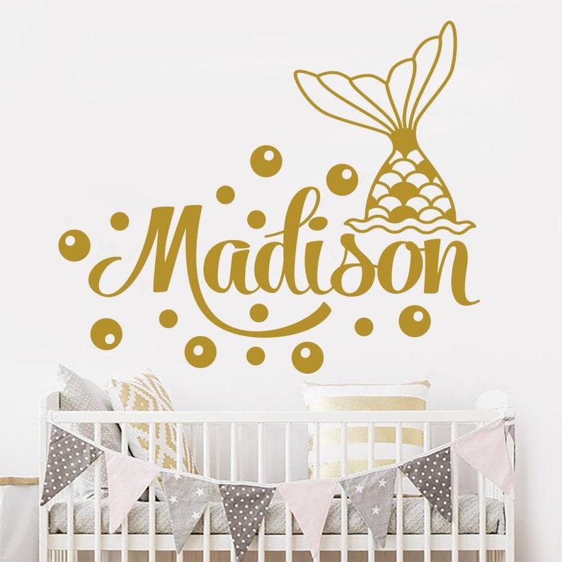 Home Decor Einhorn Wandtattoo Name Kinderzimmer Madchen Zimmer Sterne Personalisiert Deko Credify One