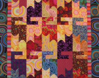 photo relating to Free Printable Cat Quilt Patterns known as Cat sewing behavior Etsy