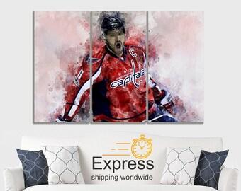 724dcfcfa Alex Ovechkin Canvas Art