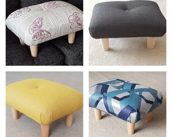 Swell Small Footstool Etsy Machost Co Dining Chair Design Ideas Machostcouk