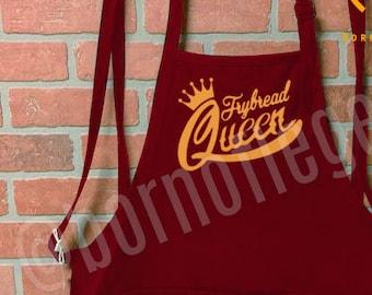 apron: frybread queen