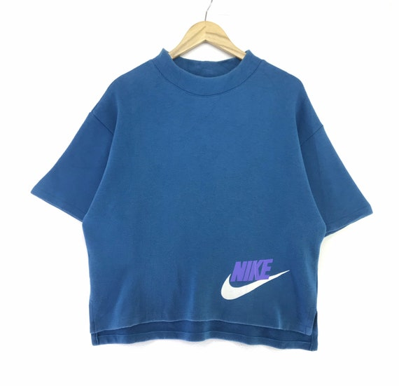 Vintage Nike Short Sleeve Sweatshirt Single Stitch