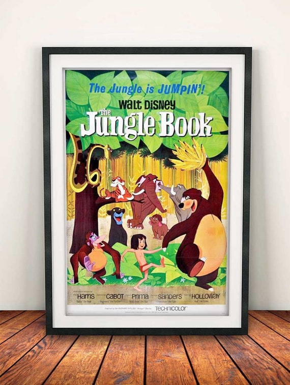 Vintage Aristocats Movie Poster A3//A2//A1 Print