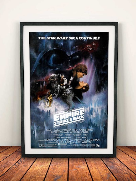 A4 A3 A2 A1 A0  Star Wars Episode V The Empire Strikes Back Movie Poster T232