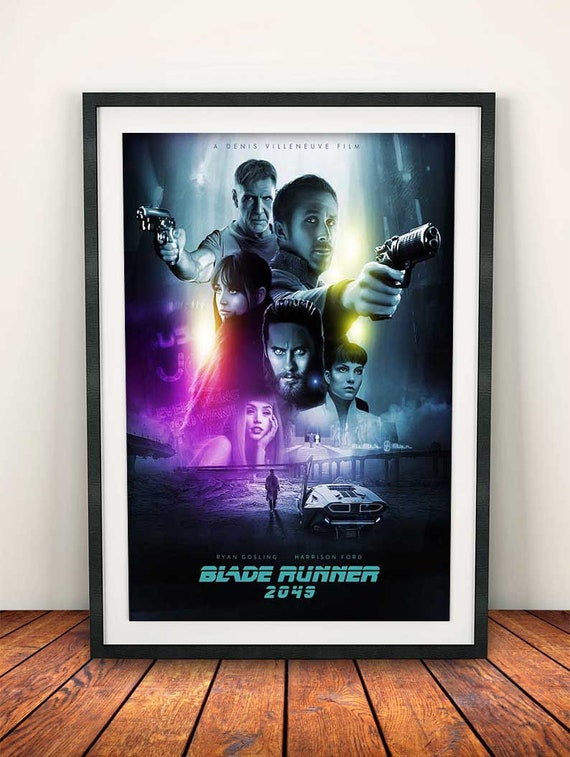 Blade Runner Harrison Ford Vintage Movie CANVAS Art Print A0 A1 A2 A3 A4