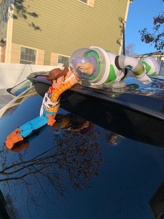 巴斯光年趣味车载玩具装饰