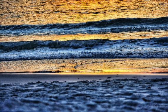 Golden Blue Waves
