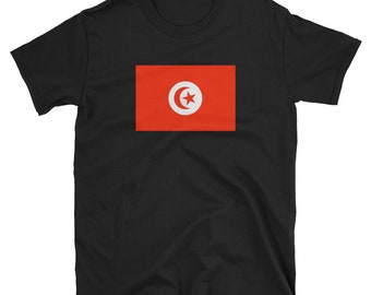 c6419910a4f Tunisia National Flag T-Shirt