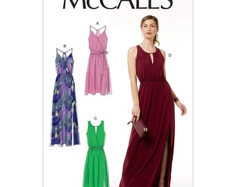 323d6d41326 McCall s M7591 Misses  Sleeveless Pullover Surplice-Style