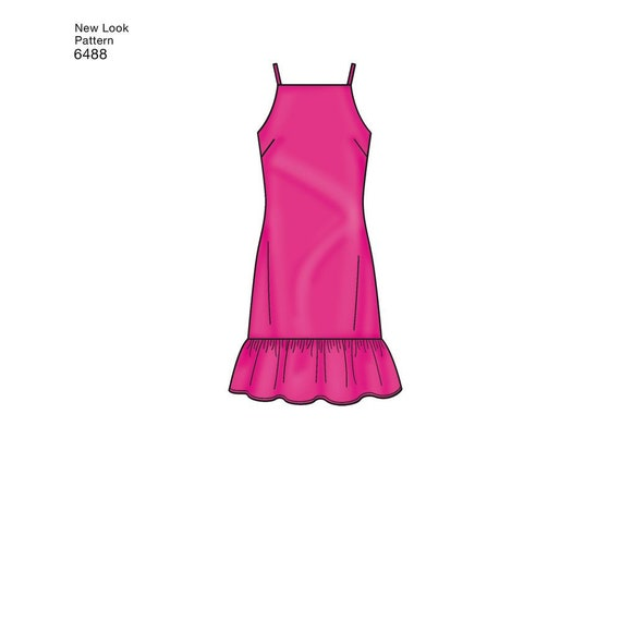 New Look Ladies Sewing Pattern 6488 Dresses with Length /& Sleeve Variatio...