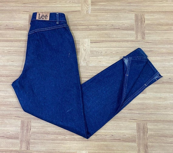 Lee Riders 70s High Waist Tappered Leg Dark Blue Z