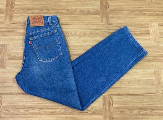 Levis Jeans 701 Dark Blue tapperd Jeans Men/Women