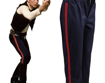 Star Cosplay Wars ANH A New Hope Han Solo Pants Cosplay Costumes Halloween Party For Adult Men