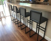 height 13-40in, 33-99cm and wood bar stool