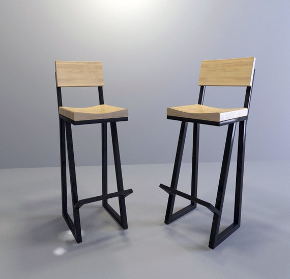Amazing Metal Wood Bar Stool 36 Stool Barstool Chair Metal Stool Metal And Wood Bar Stool Modern Stool Kitchen Stool Counter Stool Beatyapartments Chair Design Images Beatyapartmentscom