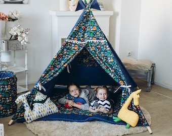 Fox And Kids Teepees