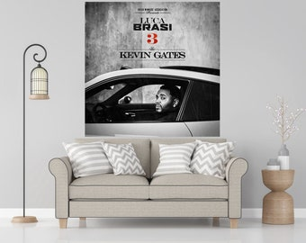 Kevin gates poster | Etsy