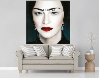 13d36af9ce Madame X Madonna Album Poster 2019 Music Cover Wall Decor Art Print - Size  12x12