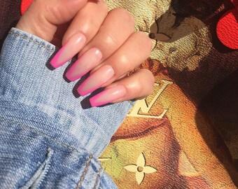 Stiletto nails   Etsy