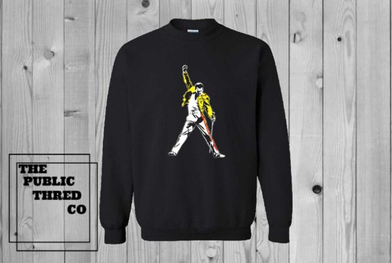 03703936f Freddie Mercury Hoodie Queen Bohemian Rhapsody Christmas Gifts | Etsy