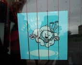 Polar Bear Car Decal 12cm...